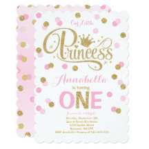 Princess birthday invitations announcements zazzle filmwisefo Images