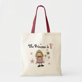 Princess 1st Birthday Tshirts and Gifts Tote Bag