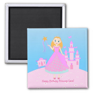 Princess 2 Inch Square Magnet