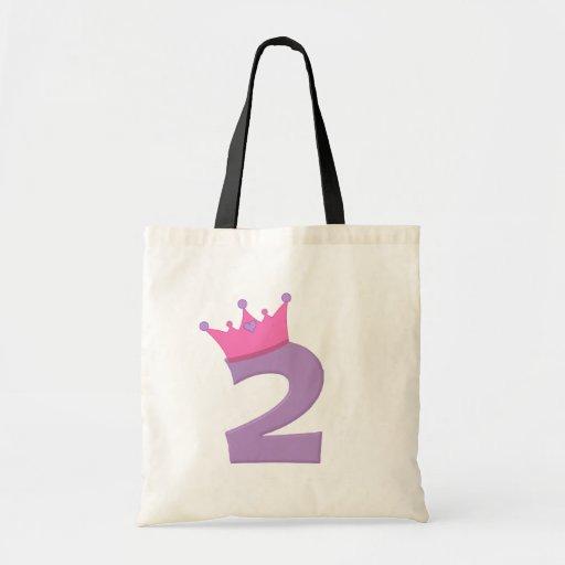 Princess 2 with Crown Tote Bag