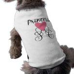 Princess 3 pet shirt