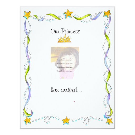 """Princess"" Adoption announcement"