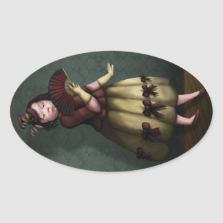 Princess Adora Oval Sticker