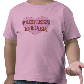 Princess Adriana Baby Shirt