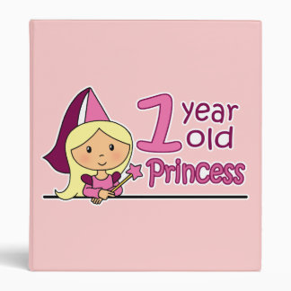 Princess Age 1 3 Ring Binder