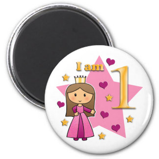 Princess Age 1 Magnet