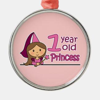 Princess Age 1 Ornaments