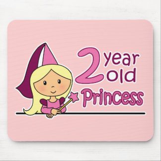 Princess Age 2 Mouse Pad