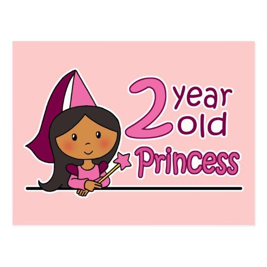 Princess Age 2 Postcard