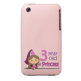 Princess Age 3 iPhone 3 Case-Mate Case