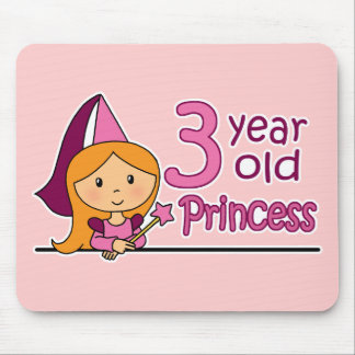 Princess Age 3 Mouse Pad