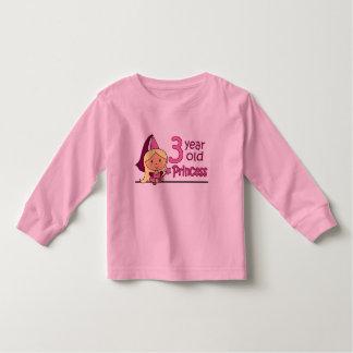 Princess Age 3 Toddler T-shirt