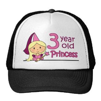 Princess Age 3 Trucker Hat