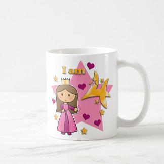 Princess Age 4 Classic White Coffee Mug