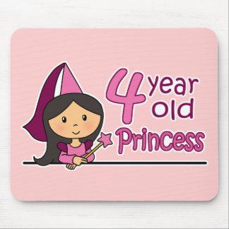Princess Age 4 Mouse Pad
