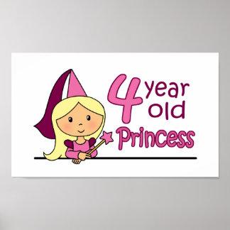 Princess Age 4 Poster