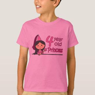 Princess Age 4 T-Shirt
