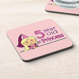 Princess Age 5 Coaster