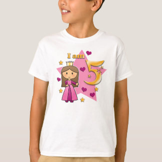 Princess Age 5 T-Shirt