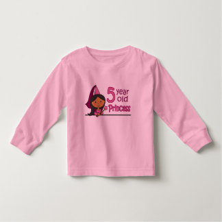 Princess Age 5 Toddler T-shirt