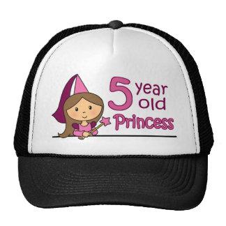 Princess Age 5 Trucker Hat
