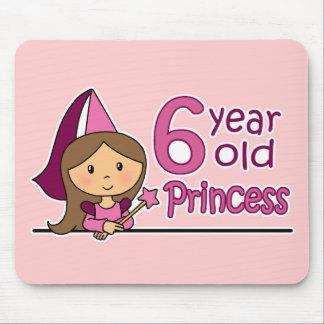 Princess Age 6 Mouse Pad