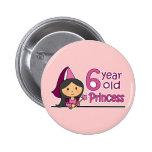 Princess Age 6 Pin