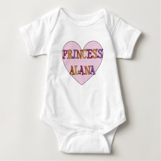 Princess Alana Baby Outfit Baby Bodysuit