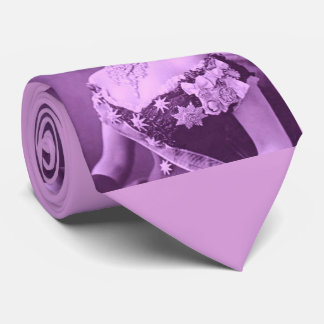 Princess Alexandra of Denmark in lavender Neck Tie