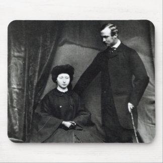 Princess Alice and Prince Ludwig of Hesse, 1860 Mouse Pad