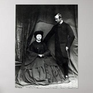 Princess Alice and Prince Ludwig of Hesse, 1860 Poster
