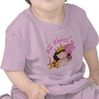 Princess All About Me 1st Birthday Tshirts shirt