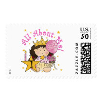 Princess All About Me 1st Birthday Tshirts Postage