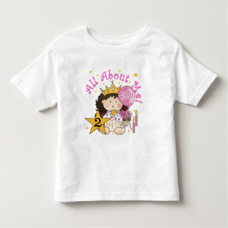 Princess All About Me 2nd Birthday Shirt