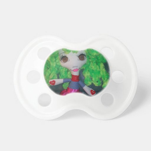 """""""Princess Alyssa"""" Smartz Doll Baby Pacifiers"""