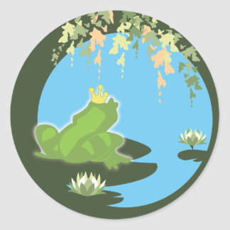 Princess and Frog Sticker