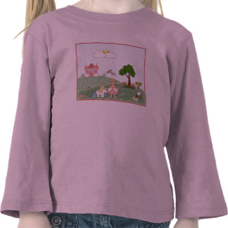 Princess and her castle tees