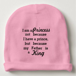 Princess and King Baby Beanie