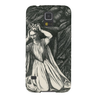Princess and the Dark Angel Galaxy S5 Cases