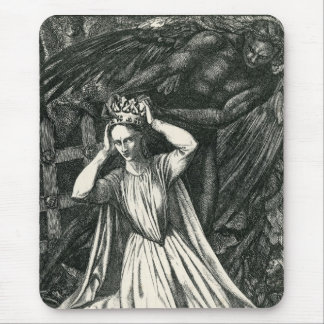 Princess and the Dark Angel Mouse Pad