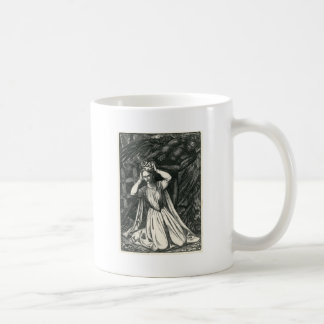 Princess and the Dark Angel Basic White Mug