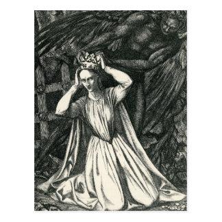 Princess and the Dark Angel Postcard