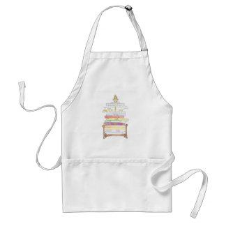 princess and the pea apron