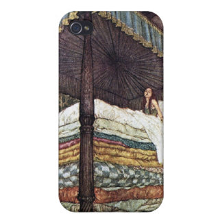 Princess and the Pea Fairy Tale 4S  Cover For iPhone 4