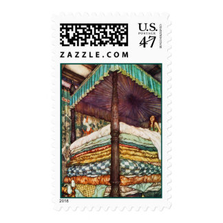 Princess and the Pea Fairy Tale Stamp