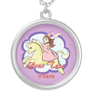 Princess and Unicorn Necklace