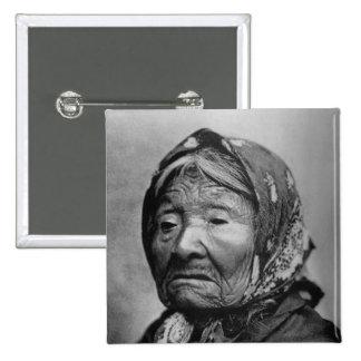 Princess Angeline - Vintage Photo 1896 Pinback Button