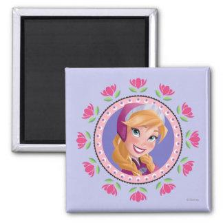 Princess Anna Fridge Magnets