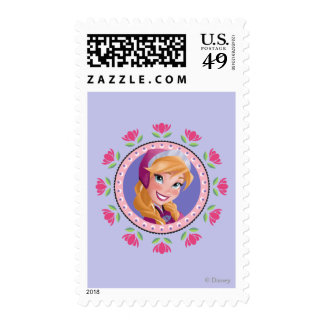 Princess Anna Postage Stamps