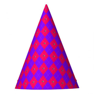 Princess Argyle Diamonds-PAPER PARTY HATS